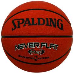 Resim Spalding No:7 Never Flat Outdoor (Dış Mekan) Basket Topu