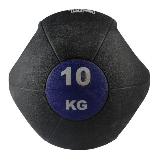 Valeo 10 Kg Tutacaklı Sağlık Topu -Mor. ürün görseli