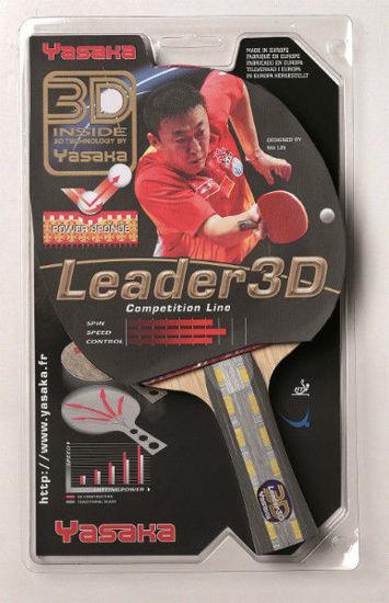 Yasaka Leader 3D Masa Tenisi Raketi - ITTF Onaylı. ürün görseli
