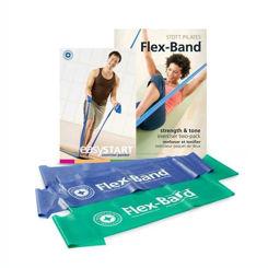 Resim Stott Pilates Flex-Band Two Pack (ST-03033)