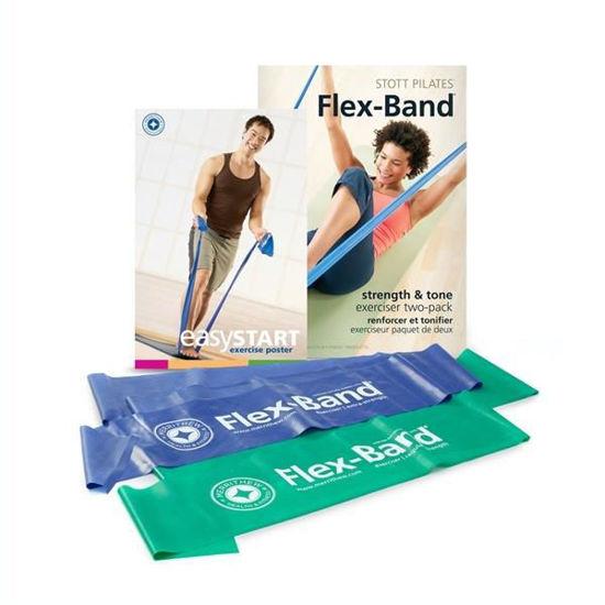 Stott Pilates Flex-Band Two Pack (ST-03033). ürün görseli