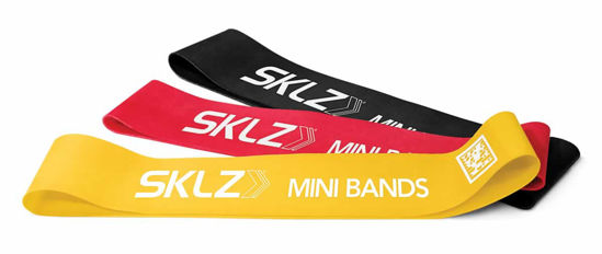Sklz Mini Bands (Set Of 3 Bands) - Antrenman Bant Seti. ürün görseli