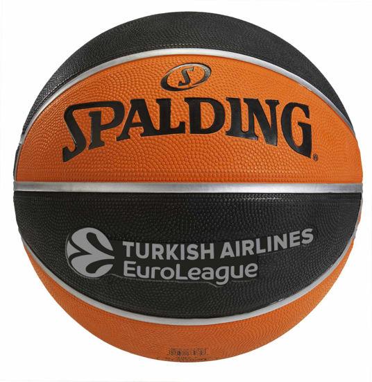 Spalding TF-150 Basket Topu Turkish Airlines Euroleague Basketbol EURO/TURK SZ5. ürün görseli