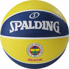 Resim Spalding Euroleague Fenerbahçe Basket Topu SZ7