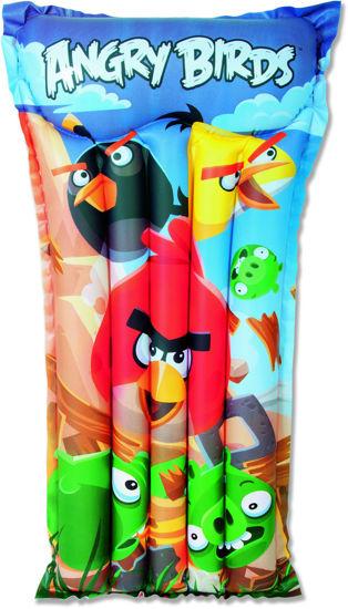 """Bestway Angry Birds Çocuklar İçin Deniz Yatağı 47""""x24"""" Child Air Mat (96104B) . ürün görseli"""