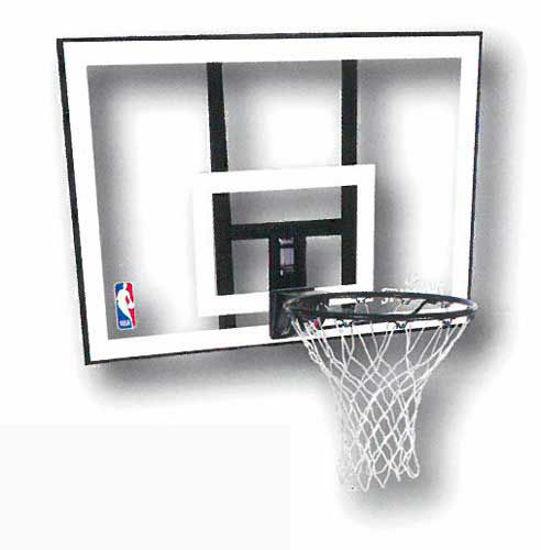 """Spalding Panya Combo 44"""" Basketbol Pota Sistemi (79484). ürün görseli"""