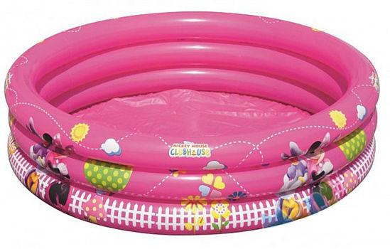 Bestway Mickey Mouse Minnie Üç Halkalı Çocuk Havuzu -91035. ürün görseli
