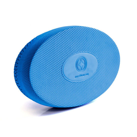 "Oval Foam cushion Blue - Medium 14.50""(37cm) ( ST-06113 ). ürün görseli"