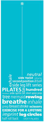 Resim Merrithew Health & Fitness  Mat–Pilates&Yoga–Inspiration(6mm)(ST-02197) (teal)