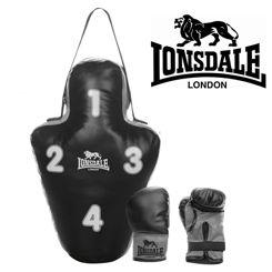 Resim Lonsdale Hedefli Torba Eldiven Set (56942)