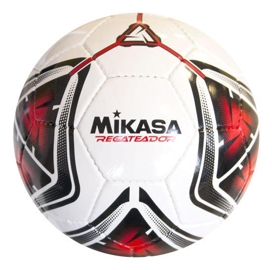 Mikasa El Dikişli Halı Saha Futbol Topu Regateador5 - Beyaz & Kırmızı. ürün görseli