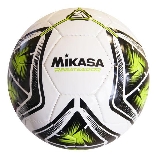 Mikasa El Dikişli Halı Saha Futbol Topu Regateador5  - Beyaz & Yeşil. ürün görseli