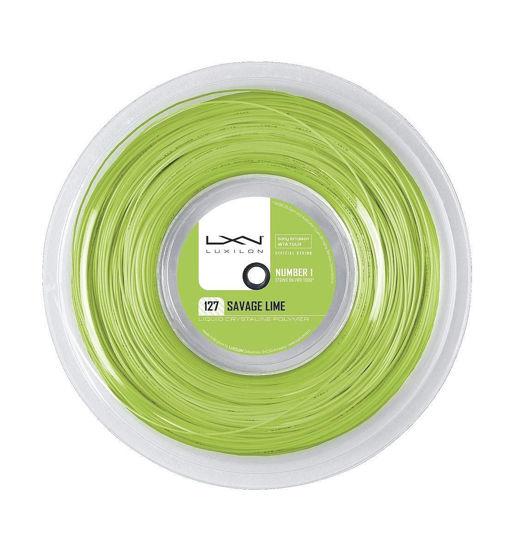Wilson Kordaj Luxilon Savage Lime 127  (WRZ902300). ürün görseli
