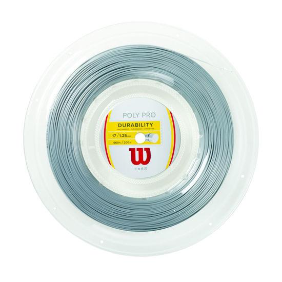 Wilson Kordaj Poly Pro Silver 125 (WRZ904700). ürün görseli