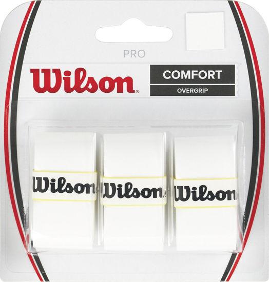 Wilson Overgrip Pro 3lü Beyaz Raket Grip (WRZ4014WH). ürün görseli