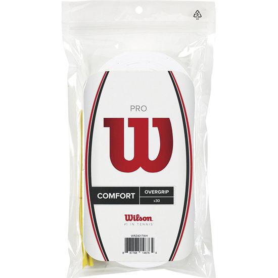 Wilson Overgrip Pro 30lu Beyaz Raket Grip (WRZ4017WH). ürün görseli