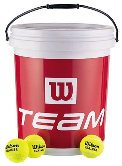 Wilson Antrenman Tenis Topu Team W 72li Kova  (WRT131200). ürün görseli