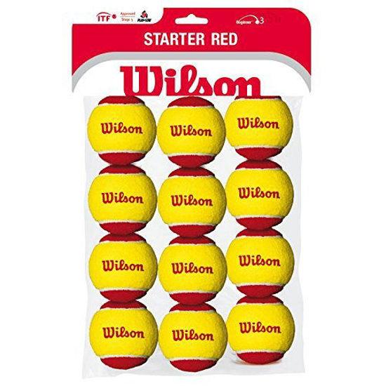 Wilson Tenis Topu Started Jr. 12li Çocuk  (WRT137100). ürün görseli