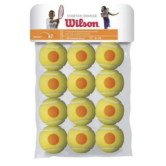 Wilson Tenis Topu Starter JR 12li Çocuk  (WRT137200). ürün görseli