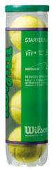Resim Wilson Tenis Topu Starter Green 4lü Çocuk  (WRT137400)
