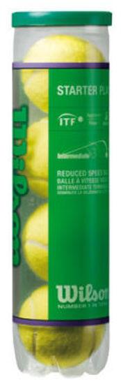 Wilson Tenis Topu Starter Green 4lü Çocuk  (WRT137400). ürün görseli