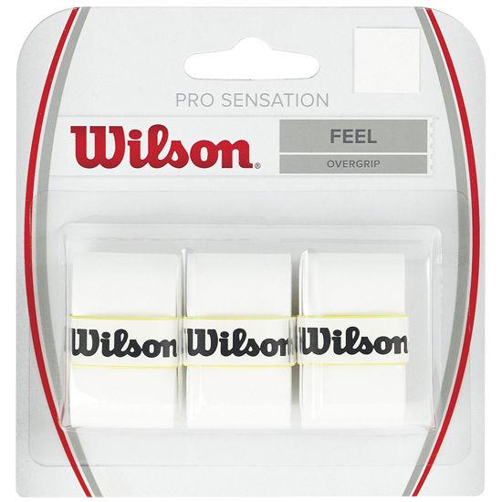 Wilson Overgrip Pro Sensation 3'lü Beyaz Grip (WRZ4010WH). ürün görseli