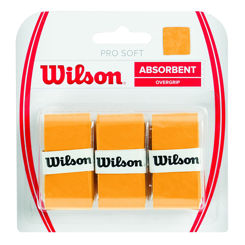 Resim Wilson Overgrip Pro Soft  3lü Altın Raket Grip (WRZ4040GO)