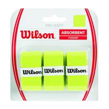 Resim Wilson Overgrip Pro Soft  3'lü Lime-Yeşil Raket Grip (WRZ4040LI)