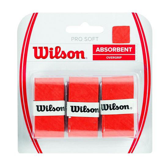 Wilson Overgrip Pro Soft  3'lü Turuncu Raket Grip (WRZ4040OR). ürün görseli