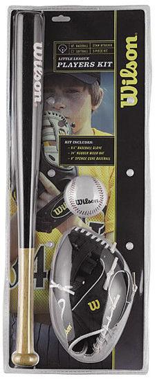 Wilson Beyzbol Seti - Little League Beyzball Kit ( WTA0001A ) . ürün görseli