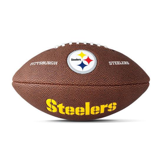 Wilson Amerikan Futbol Topu Maketi NFL Logolu Pitsburgh Steelers ( WTF1533XBPT ). ürün görseli