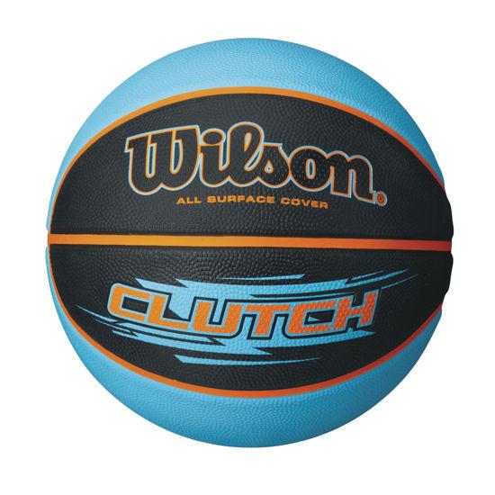 Wilson Basketbol Topu Clutch RBR BLAQU ( WTB1430XB ) . ürün görseli