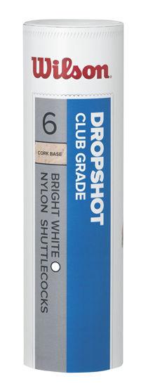 Wilson Badminton Topu Dropshot 6'lı  Beyaz ( WRT6046WH ). ürün görseli