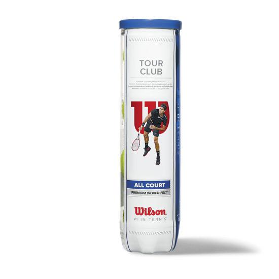 Wilson Tenis Topu Premium Tour Club 4'lü  (WRT114600). ürün görseli