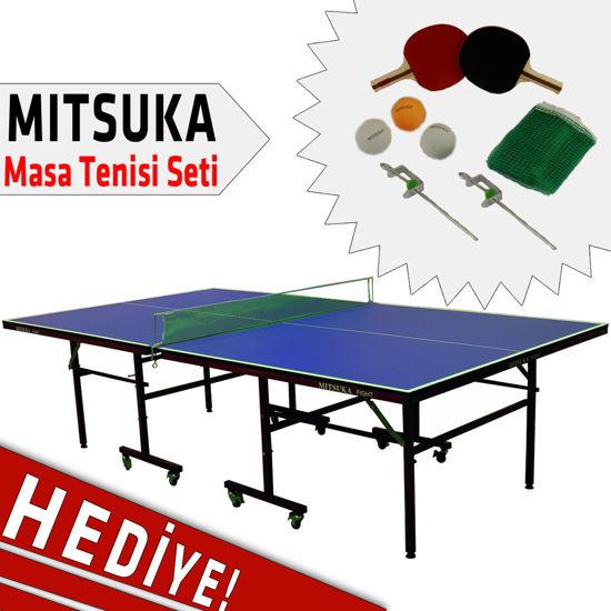Mitsuka Fight Masa Tenis Masası + 2 Raket + 3 Top + Ağ-Demir Hediyeli. ürün görseli