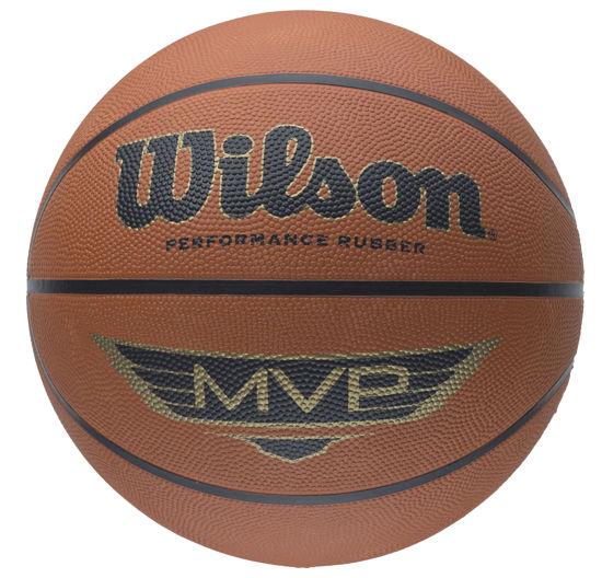 Wilson Basket Topu MVP Brown SZ5 (B9054X). ürün görseli