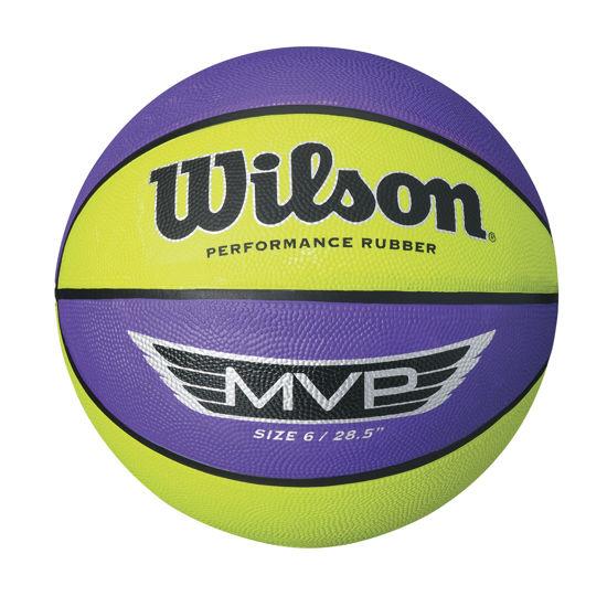 Wilson Basket Topu MVP 295  PUR/LİME (WTB9067XB). ürün görseli