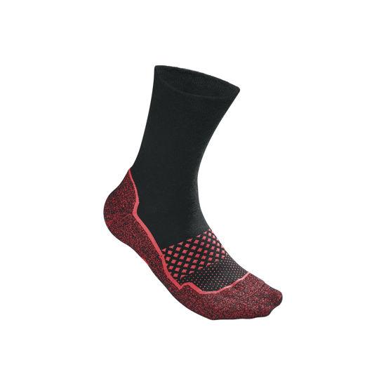 Wilson Amplifeel Çorap Siyah / Kırmızı ( WRA514704 ). ürün görseli