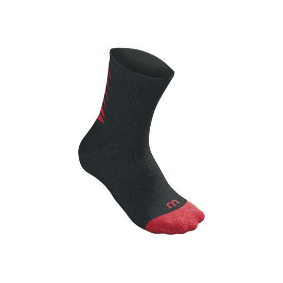 Wilson Çorap Core Crew Siyah-Kırmızı. ürün görseli