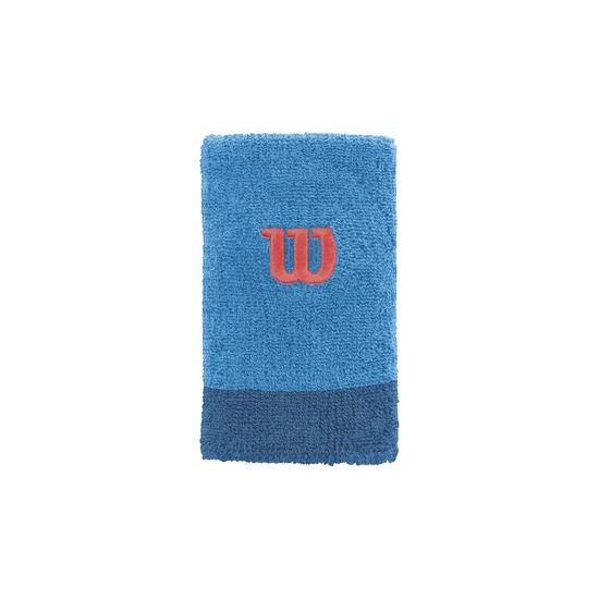Wilson Bilek Bandı Extra Wide Wristband Mavi-Lacivert  (WRA733506). ürün görseli