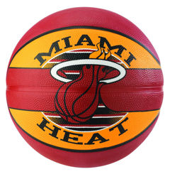 Resim Spalding NBA Miami Heat SZ7 Basket Topu (83-507Z)