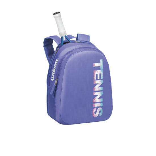 Wilson Çocuk Tenis Sırt Çantası Match Mor-Beyaz  (WRZ822795). ürün görseli