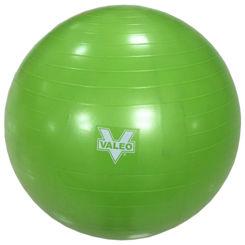 Resim Valeo 65 cm Antiburst Pilates Topu - Yeşil