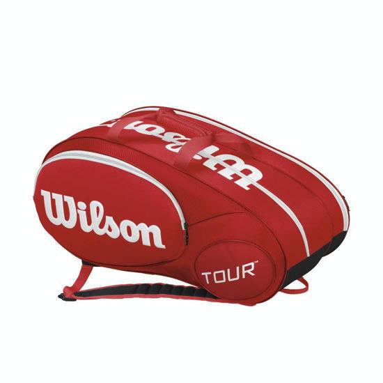 Wilson Tenis Sırt Çantası Mini Tour 6 Pack Kırmızı  (WRZ642506 ) . ürün görseli