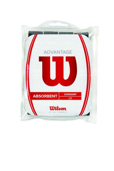 Wilson Overgrip Advantage Siyah 12 PK (WRZ4034BK ). ürün görseli