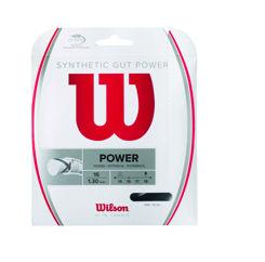 Resim Wilson Kordaj Sentetik Gut Power 16 Siyah  (WRZ945200)
