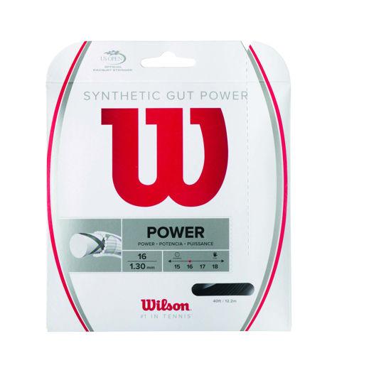 Wilson Kordaj Sentetik Gut Power 16 Siyah  (WRZ945200). ürün görseli