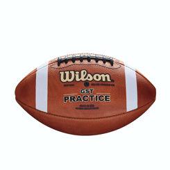 Resim Wilson Amerikan Futbol Topu GST Practice FB 1003 Pattern Bulk (WTF1233B )