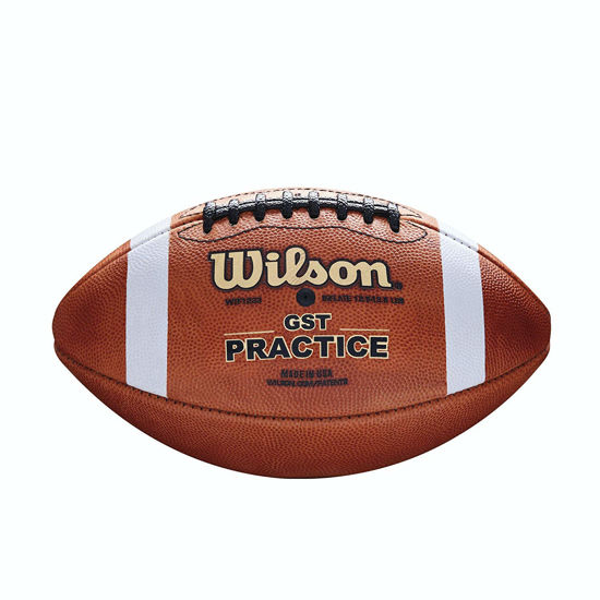 Wilson Amerikan Futbol Topu GST Practice FB 1003 Pattern Bulk (WTF1233B ) . ürün görseli