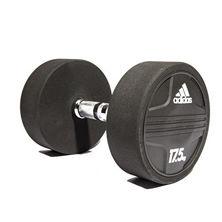 Resim Adidas Rubber Dumbbell 17,5Kg (ADWT-11346)